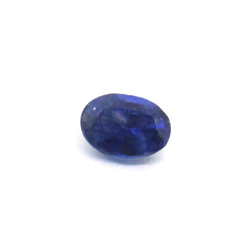 0.49 ct Natural Ceylon Blue Sapphire , Natural Gemstone - PeakGems.com, PeakGems.com - 1