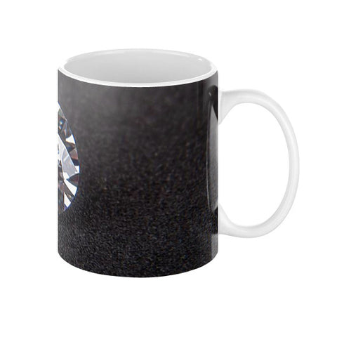 Diamond Portrait Coffee Mug 11oz, Mug - PeakGems.com, PeakGems.com - 3