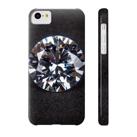 Diamond Portrait Phone Case Slim iPhone 5C, Phone Case - PeakGems.com, PeakGems.com - 7