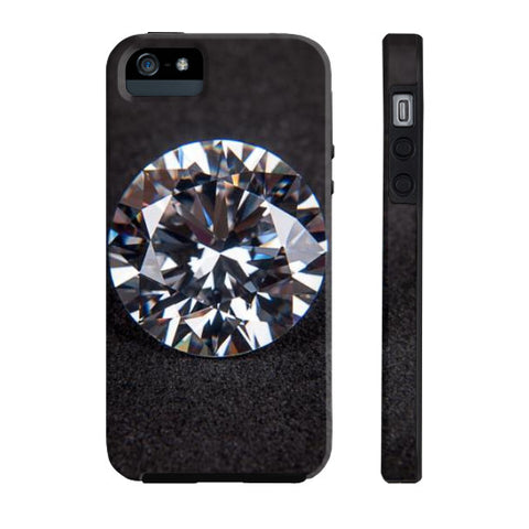 Diamond Portrait Phone Case Tough iPhone 5/5s, Phone Case - PeakGems.com, PeakGems.com - 6