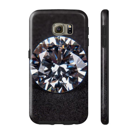Diamond Portrait Phone Case Tough Galaxy s6, Phone Case - PeakGems.com, PeakGems.com - 11