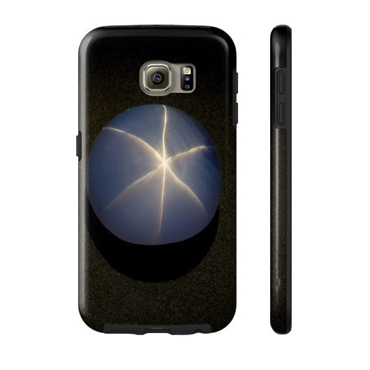 Star Sapphire Portrait Phone Case Tough Galaxy s6, Phone Case - PeakGems.com, PeakGems.com - 10