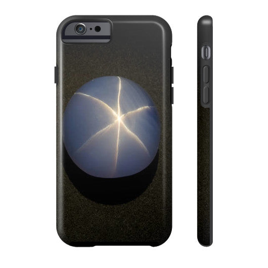 Star Sapphire Portrait Phone Case Tough iPhone 6S, Phone Case - PeakGems.com, PeakGems.com - 3