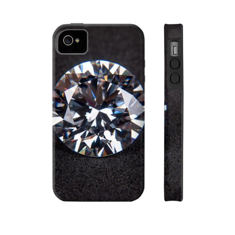 Diamond Portrait Phone Case Tough iPhone 4/4s, Phone Case - PeakGems.com, PeakGems.com - 8
