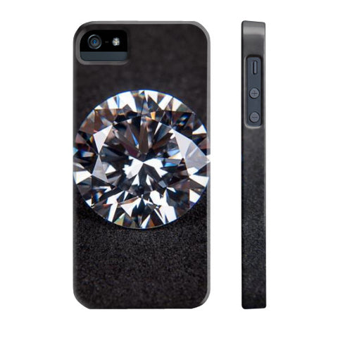 Diamond Portrait Phone Case Slim iPhone 5/5s, Phone Case - PeakGems.com, PeakGems.com - 5
