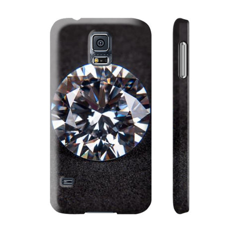Diamond Portrait Phone Case Slim Galaxy s5, Phone Case - PeakGems.com, PeakGems.com - 12