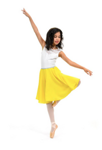 749f5f074a 【New】【yellow Georgette】Rehearsal long flowy skirt – Princess Dance Products