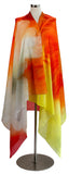 Large cotton voile scarf