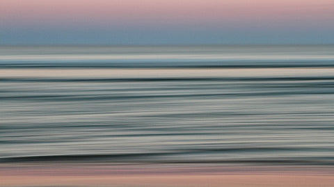 Bodies of Water: Evening Rose, Atlantic Ocean