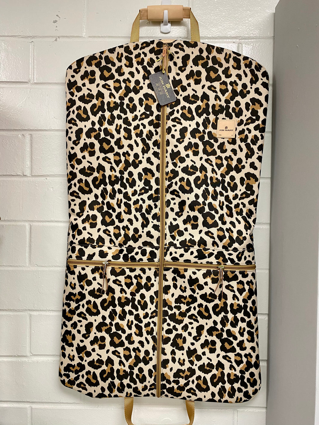 Jon Hart Leopard Two-Suiter