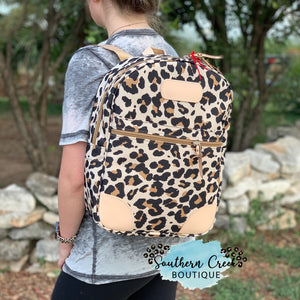 Jon Hart Leopard Regular Backpack