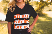 "Load image into Gallery viewer, ""All My Witches Love Me"" Graphic Tee"