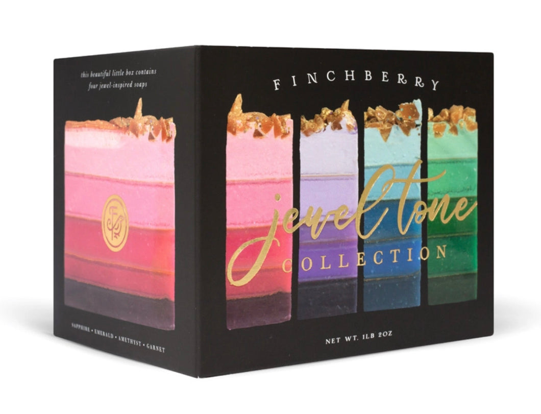 Finchberry Jewel Tone Collection - 4-Bar Gift Set