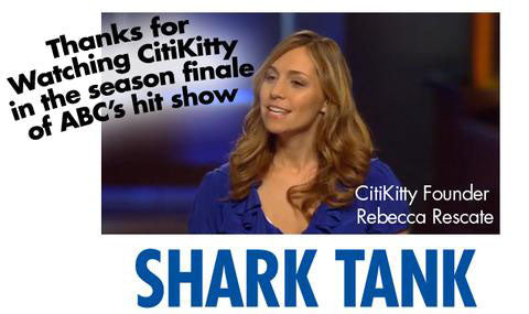 Rebecca Rescate, CitiKitty Founder on ABC's Shark Tank