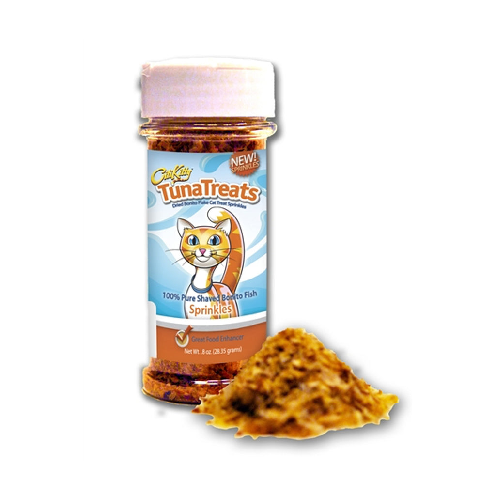 TunaTreats Premium Bonito Flake Sprinkles - 0.8 oz Spice Jar - CitiKitty Inc.   - 1