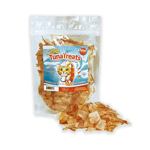 TunaTreats Premium Bonito Flakes - 1 oz Resealable Bag