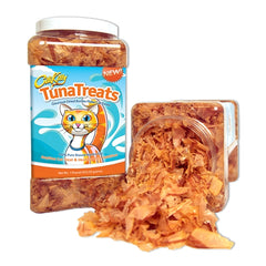 CitiKitty TunaTreats Premium Bonito Flakes Cat Treat - Easy Grip Jar - CitiKitty Inc.   - 6