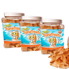 CitiKitty TunaTreats Premium Bonito Flakes Cat Treat - Easy Grip Jar - CitiKitty Inc.   - 4
