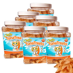CitiKitty TunaTreats Premium Bonito Flakes Cat Treat - Easy Grip Jar - CitiKitty Inc.   - 3