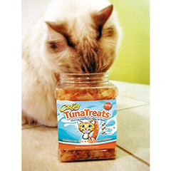 CitiKitty TunaTreats Premium Bonito Flakes Cat Treat - Easy Grip Jar - CitiKitty Inc.   - 7