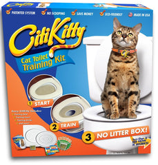 CitiKitty Cat Toilet Training Kit - CitiKitty Inc.   - 1