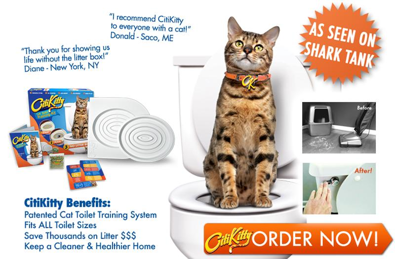 CitiKitty Cat Toilet Training Kit - Toilet Train your Cat