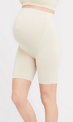 Seamless support shorts - natural