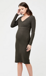 ripe amber knit dress maternity canada
