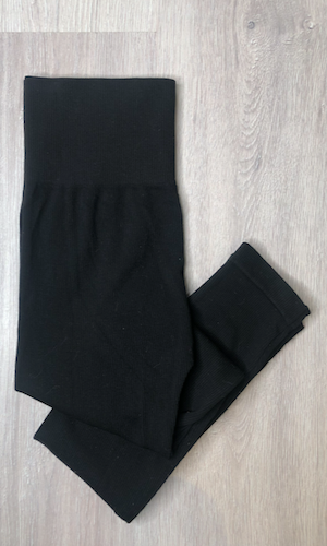 Bamboo rib leggings