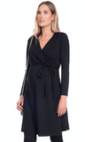 Thea wrap (maternity) dress