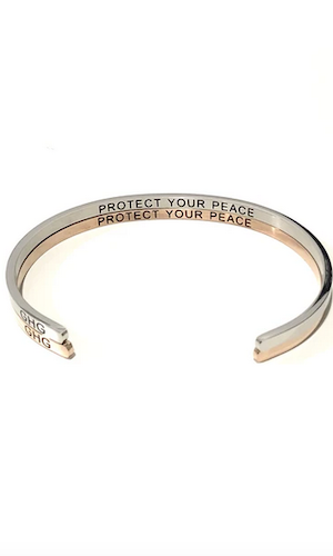 Bangle - Protect your peace