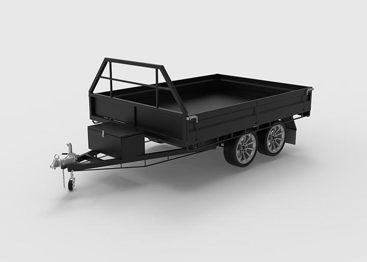 10x7 Hydraulic Tipping Trailer Plans