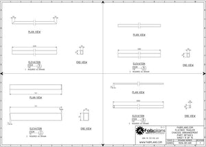 fabplans trailer plans parts drawings flatbed blueprints