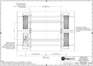 fabplans trailer plans blueprints underside axle plans