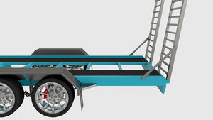 fabplans car trailer plans ramp design