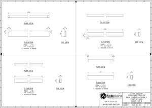 fabplans car trailer parts drawings blueprints