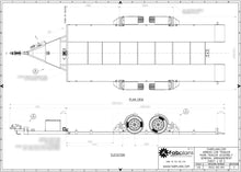 Load image into Gallery viewer, fabplans airbag car trailer chassis drawing