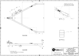 drawbar plans for free box trailer