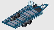 Load image into Gallery viewer, fabplans underside flatbed cad render