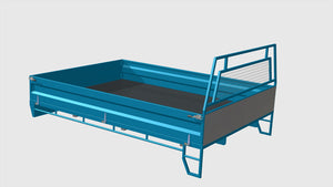 front right iso fabplans single cab tray