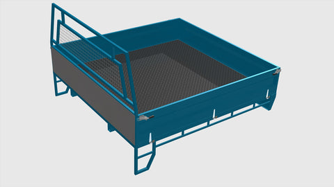 Space cab Steel Ute Tray