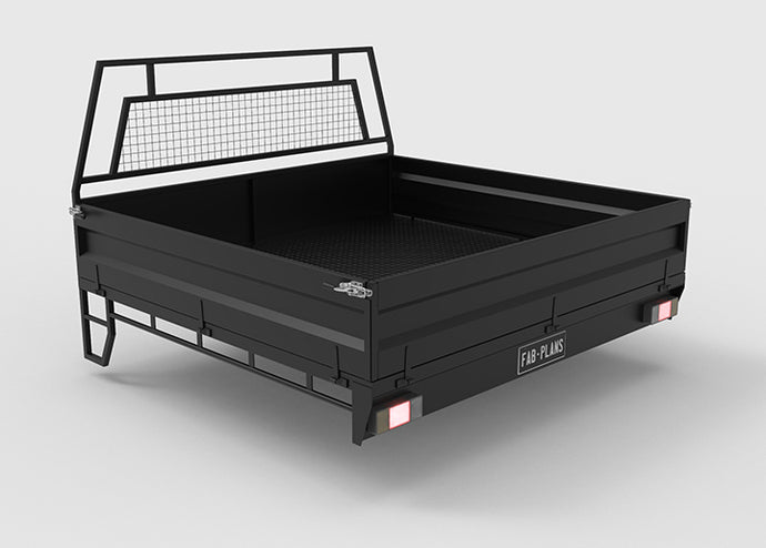 Dual cab Steel Ute Tray Plans
