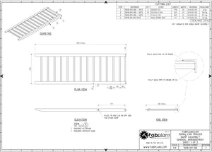 fabplans 3500kg car trailer ramp blueprints