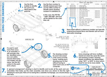 Load image into Gallery viewer, how to read trailer plans and drawings fabplans blueprints