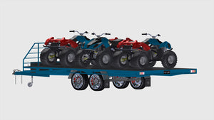 fabplans 3500kg wide bed flat bed trailer plans