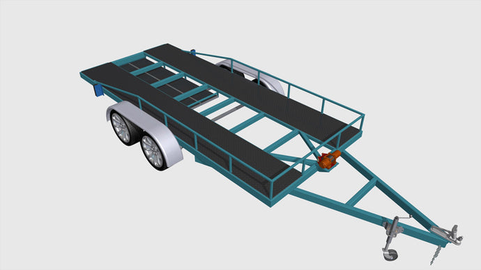 2500kg car trailer plans fabplans blueprints