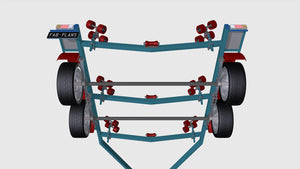 axle view boat trailer fabplans