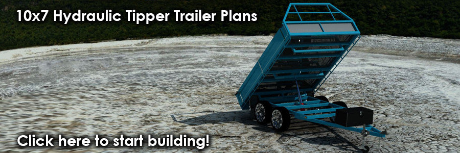 fabplans tipper trailer plans and blueprints