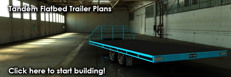 3500kg flat bed trailer plans