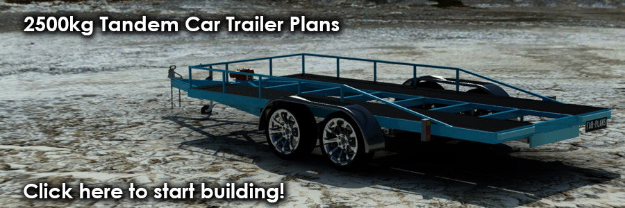 2500kg car trailer blueprints